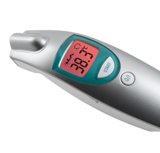 Ftn term metro sin contacto medisana healthcare for Termometro cocina profesional